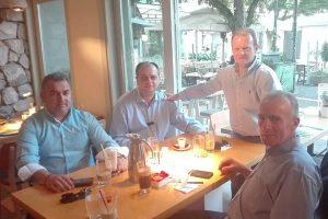 Συνάντηση στη Λάρισα των νεοεκλεγέντων προέδρων ΝΟΔΕ Λάρισας, Τρικάλων, Μαγνησίας, Καρδίτσας