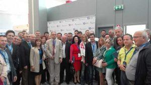 Αντιπροσωπεία της ΝΟΔΕ ΛΑΡΙΣΑΣ στο πρόσφατο συνέδριο της ΝΔ στην Αθηνά