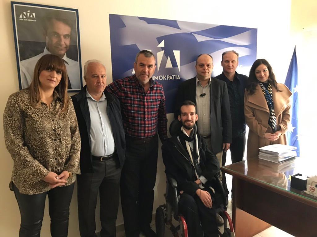 Επίσκεψη Στ. Κυμπουρόπουλου στη Λάρισα