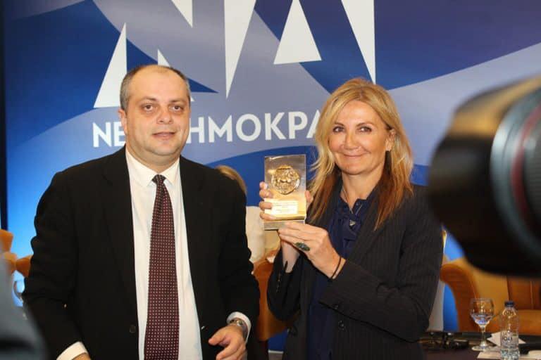 Βίντεο αφιέρωμα απο την πρόσφατη επίσκεψη της κ.Μαρέβα Γκραμπόφσκι Μητσοτάκη στη Λάρισα