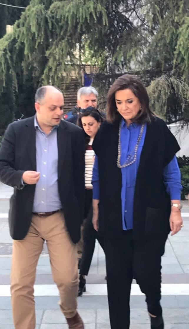 Επίσκεψη Ντόρας Μπακογιάννη στη Λάρισα