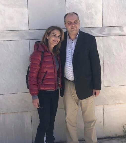 Επίσκεψη Π. Σταθακοπούλου στη Λάρισα