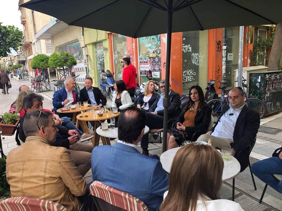 Επίσκεψη Βίκυς Φλέσσα στη Λάρισα