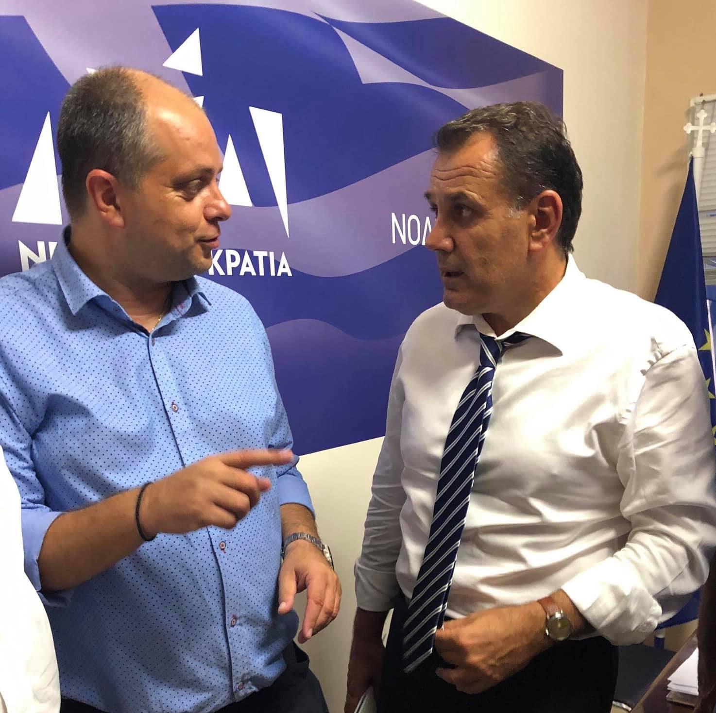 Επίσκεψη Υπουργού Εθνικής Άμυνας Νίκου Παναγιωτόπουλου